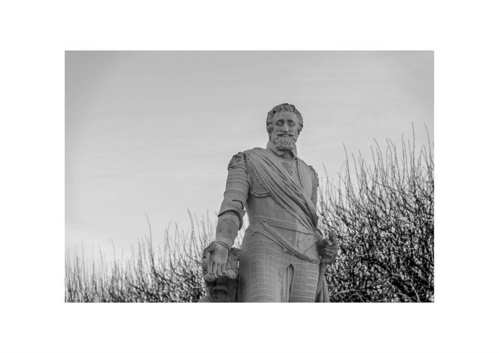 Statue d'Henri IV, place Royale, Pau