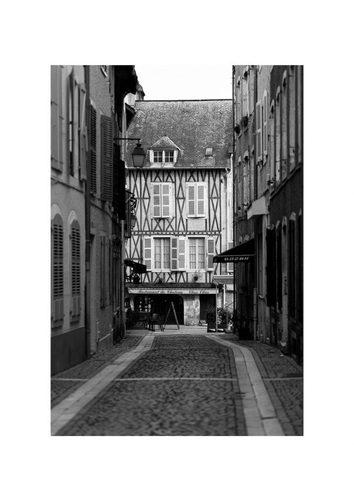 Ruelle du quartier du château de Pau