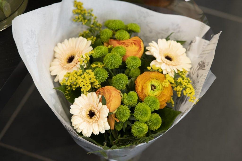 Exemple de bouquet de fleur