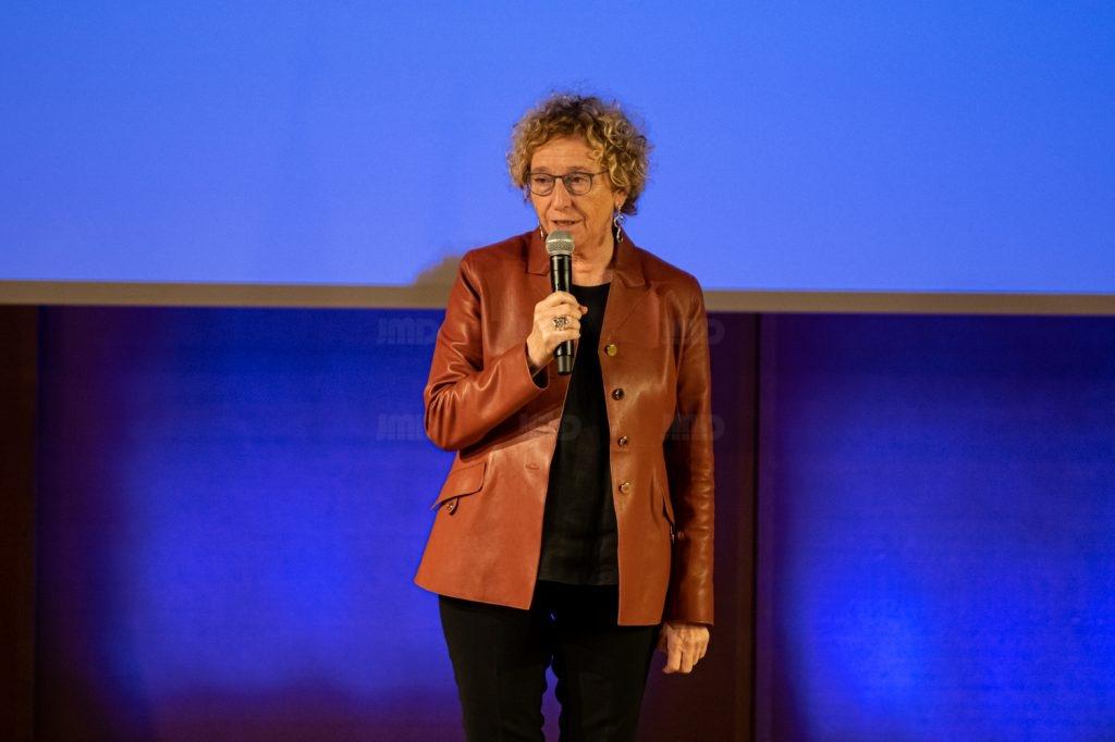 Muriel Pénicaud Ministre du travail  lors de son allocution au congrès de l'UNEA au Palais Beaumont à Pau