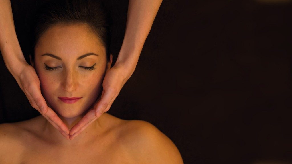 SPA Terra Nostra, massage visage