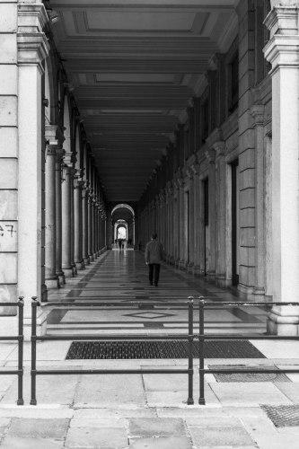 Turin / Torino, les arcades