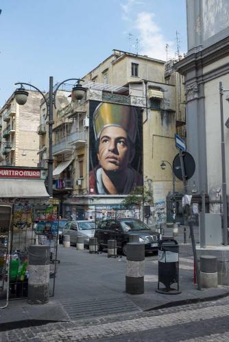 Naples / Napoli, graff religieux