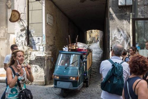 Naples / Napoli, piaggio