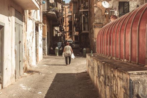 Naples / Napoli, retour de courses