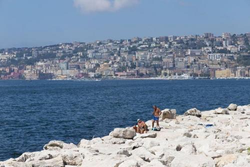 Naples / Napoli, la plage