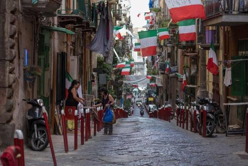Naples / Napoli, rue de Naples
