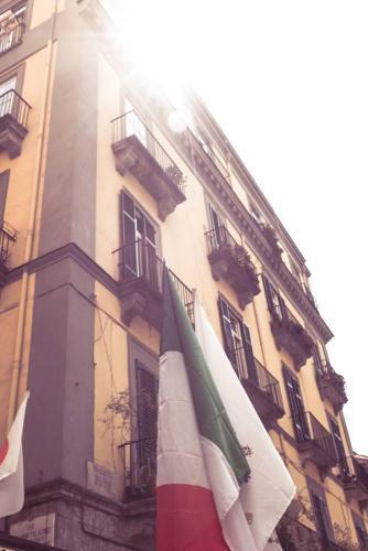 Naples / Napoli, drapeau